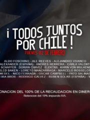 Todos Juntos por Chile @ Club La Feria