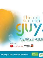 La Feria & 5unset Events presentan: Guy J – Closing Summer 24.02
