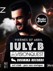 Undernights presenta Iuly B – Visionquest, Drumma Records