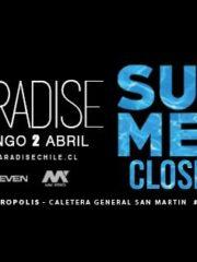 Closing Summer Paradise Santiago