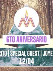 Macarena Club presenta @ Aniversario 6 años!