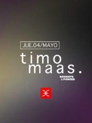 La Feria Classic presenta: Timo Maas – Viernes 4 de Mayo