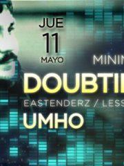 Minimal Groove Presenta : DoubtingThomas Live + Umho