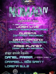 Nomad IV Psychedelics & Sonido Likido Stage