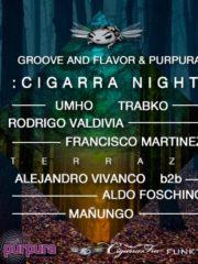 Groove And Flavor & Purpura Presentan Cigarra Night
