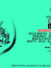 Green House | Paula Wapsas BDAY * Viernes 11 Agosto