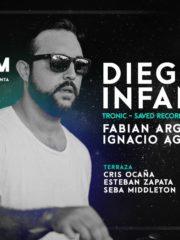 Diego Infanzon en Chile // ClubRoom // Agosto 26 sábado