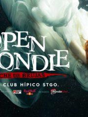 Open Blondie · Noche de Brujas 2017, Club Hípico Stgo.