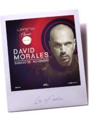 La Feria Classic presenta: David Morales – Sábado 25 Noviembre