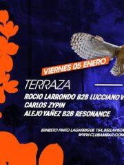 Terraza Electrónica, Viernes 05 Enero ClubAmbar, Microclub