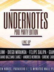 Poolparty Undernotes Summer Edition / Sábado 10 de Febrero / Camino Lonquen