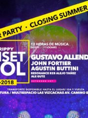 The Trippy Sunset Pool / Closing Summer