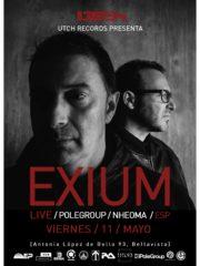 EXIUM (Live) / Polegroup / Nheoma / Mord / ESP