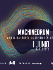 Machinedrum en Chile @ Bar Loreto