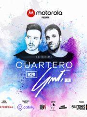 Motorola presenta Cuartero b2b Guti Live – Viernes 31 Agosto