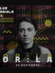 Club Cariola trae a la DJ irlandesa Or:La