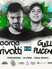 Shortcut&RedNights :George Privatti B2B Guille Placencia/18deOct